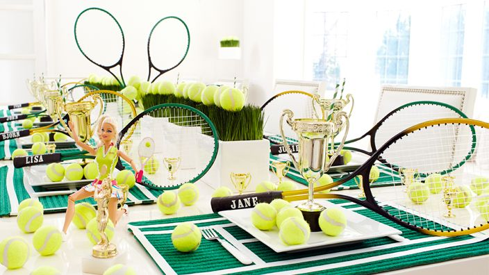 An Ace of a Tennis Party #tennis #party www.bitememore.com