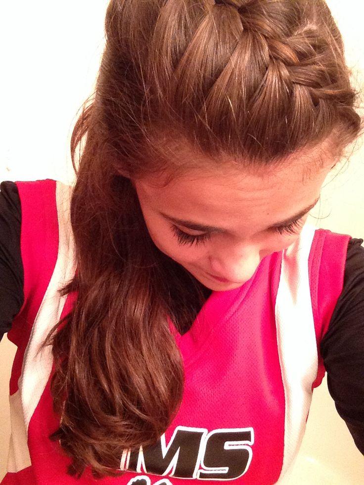 Softball hair!! Thanks @Lael McCollough