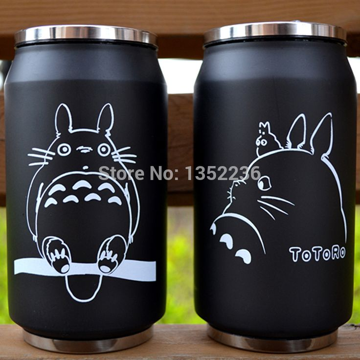 Cheap cup pp, Buy Quality mug supplier directly from China mug warmer Suppliers:  totoro cup    cartoon vacuum thermos mug my neighbor totoro can of cola stainless steel totoro cup with Japanese