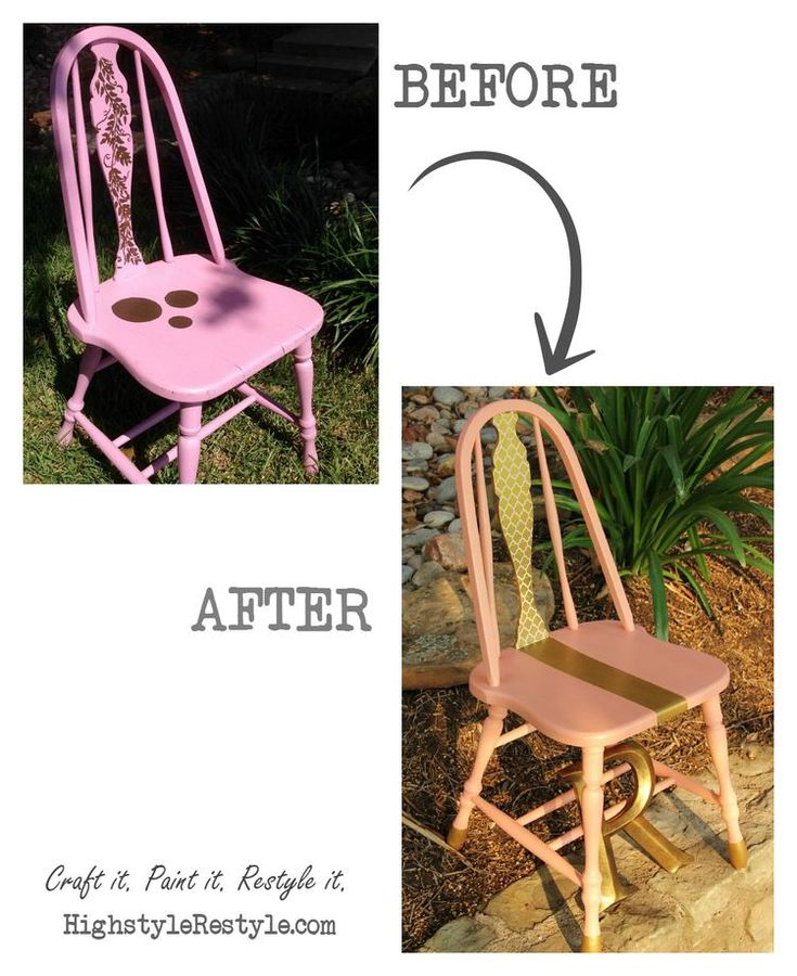 How To Mix The Perfect Coral U0026 Chair Makeover