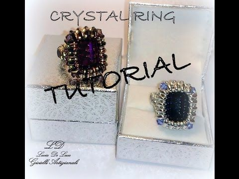 ▶ Tutorial Anello CRYSTAL RING - YouTube
