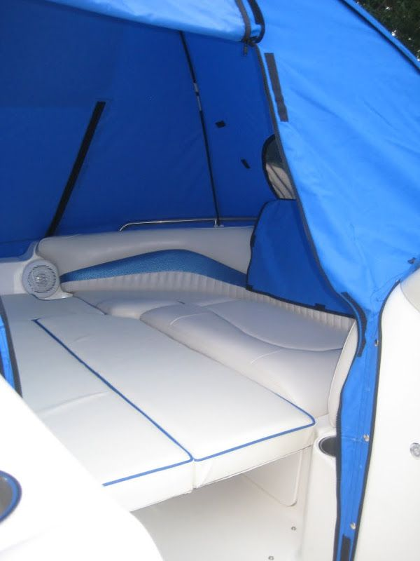 My new cuddy, well sorta... Deck boat tent Page: 1 - iboats Boating Forums | 421001