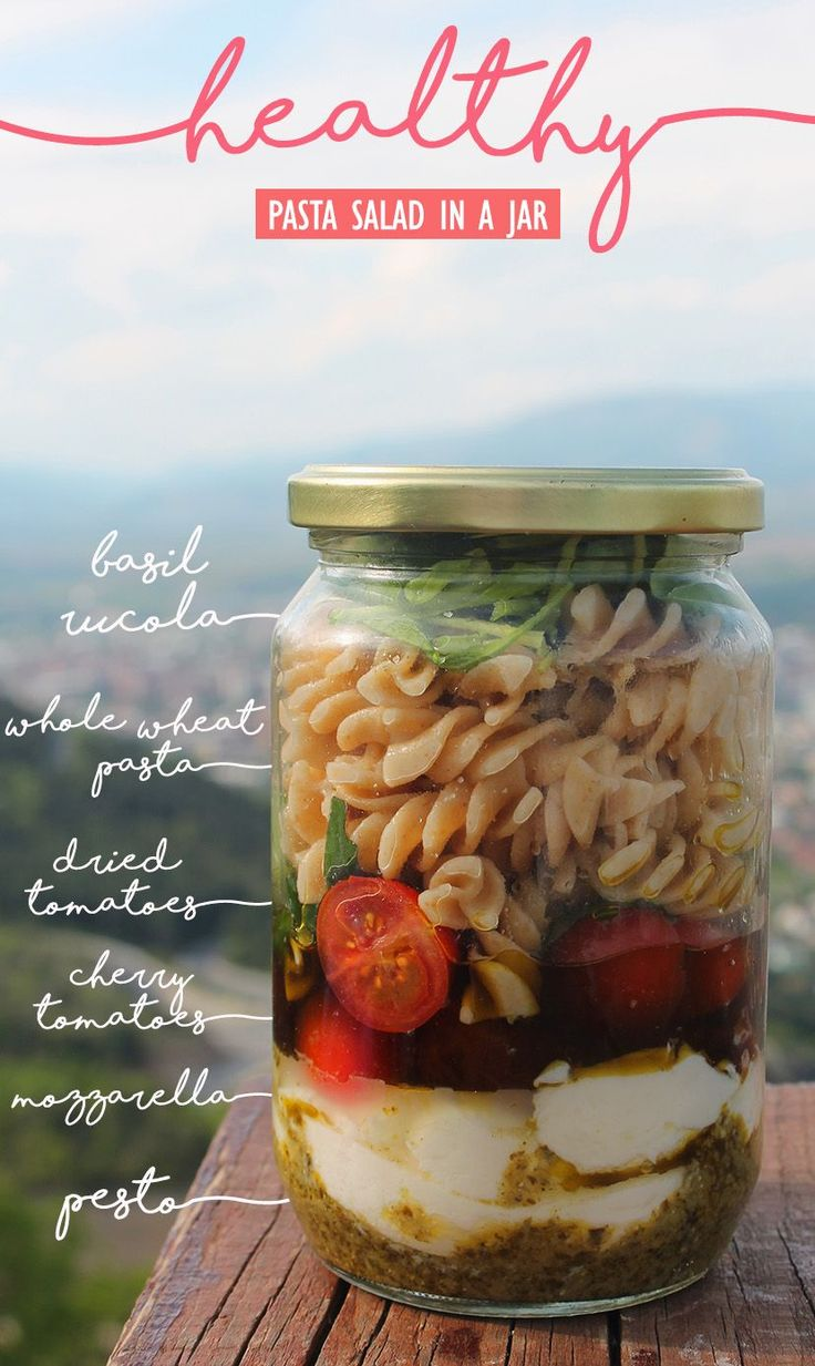 Healthy Meals In a Jar – Healthy Meals-To-Go and Recipes For A Last Minute Takeaway