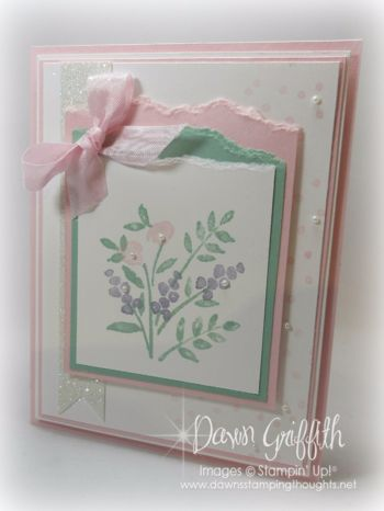 Hi Stampers,  Happy Monday friends !  Here is a card I made using the Number of Years stamp set and Framelits . Don't you just love this stamp set . Customize all your years for Birthday's and Anniver