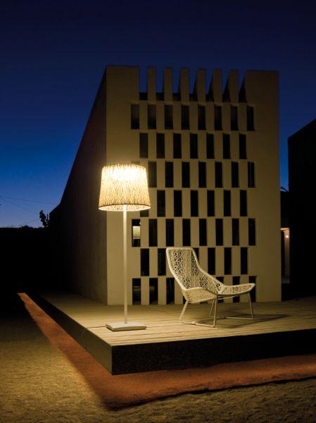 contemporary outdoor floor lamp - Vibia