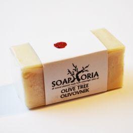 Olivovník prírodné mydlo od značky Soaphoria, liečivá a certifikovaná prírodná kozmetika