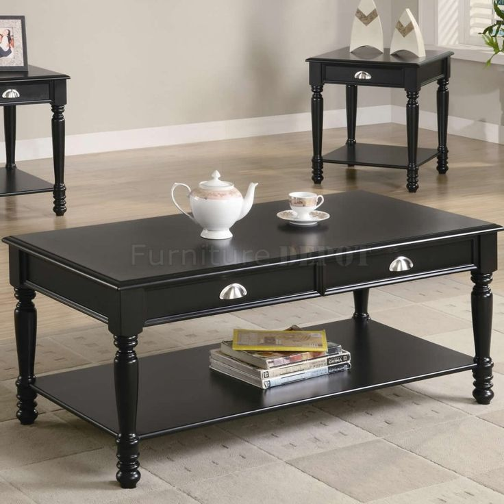 Coffee Table Sets Black