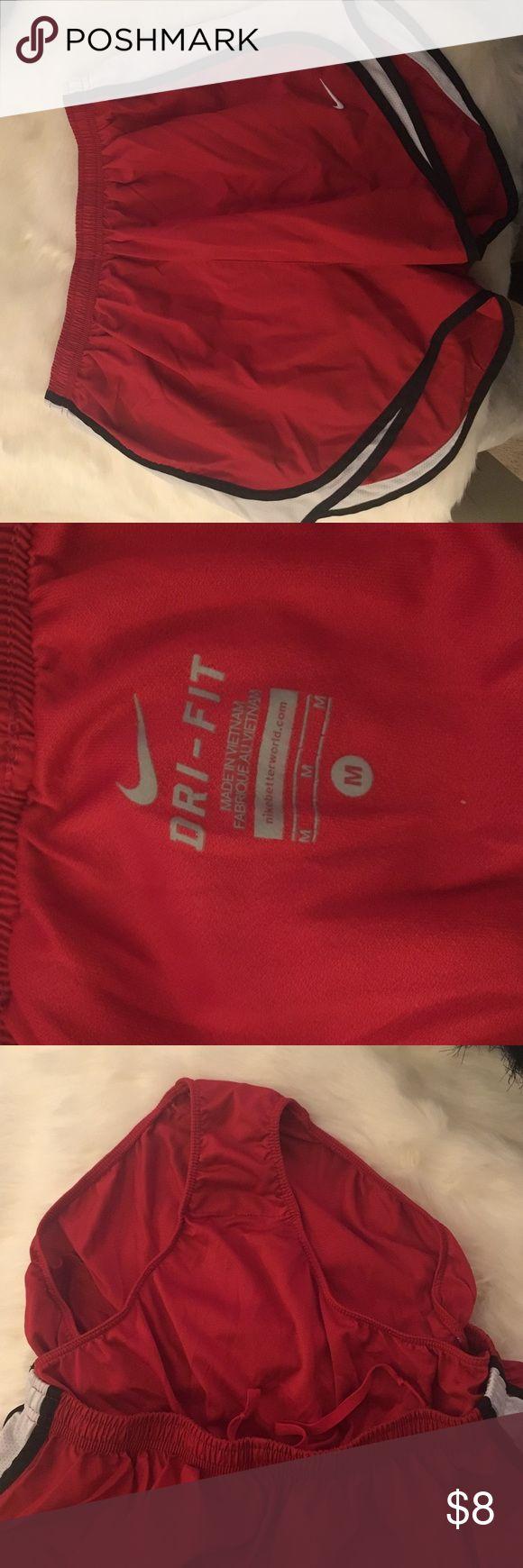 Red white and black Nike shorts Nike shorts Nike Shorts