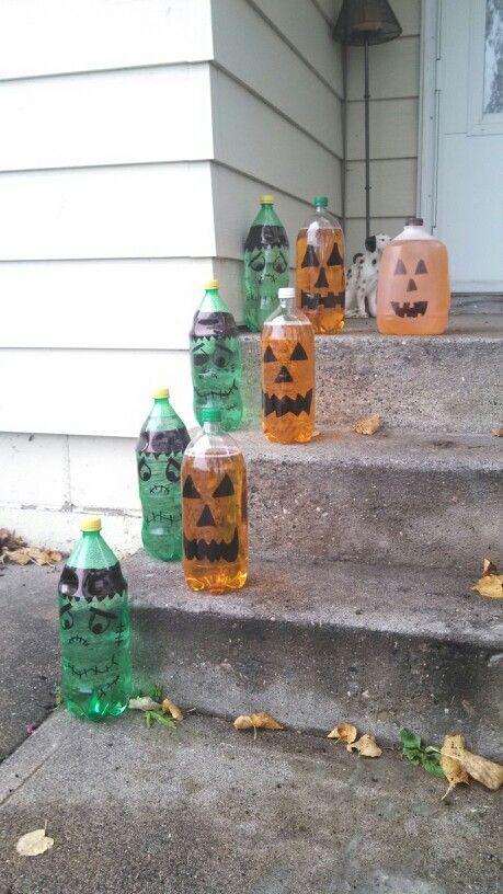 Pop Bottle Crafts | Halloween 2 liter pop bottle craft
