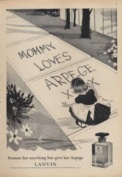 Lanvin Arpege Perfume Bottle (1962)