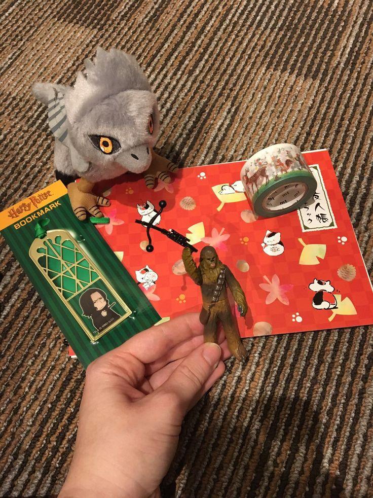 Shopping in Den-Den-Town (Tokyos' Akihabara) #hippogreif #hippogriff #seidenschnabel #buckbeak     #snape #bookmark #always #chewbacca #washitape #sketchbook #cats #autumn