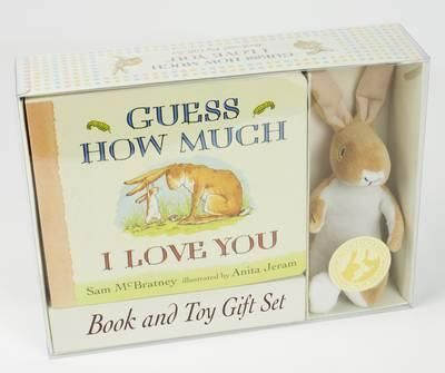 Guess How Much I Love You (Board Book & Toy)