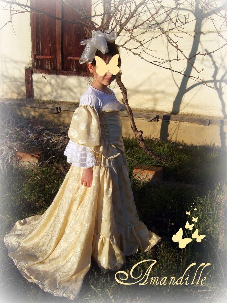 Amandille: Tuto couture : la traîne du costume de princesse