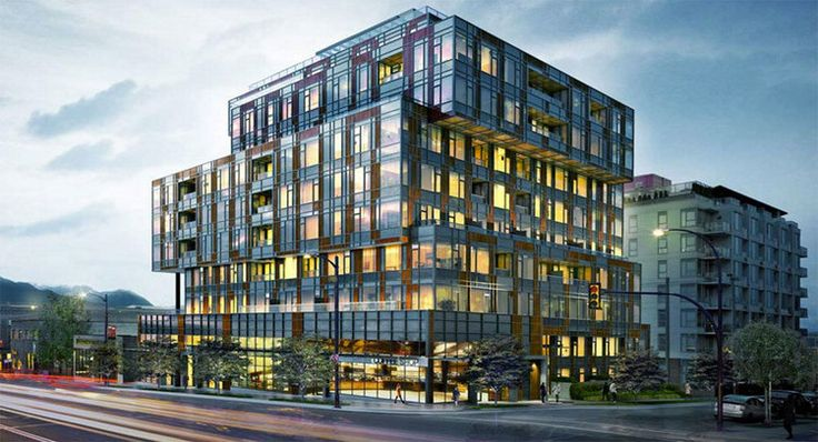 Rendering of the Ellsworth condos, coming soon to Vancouver's Mount Pleasant neighbourhood.