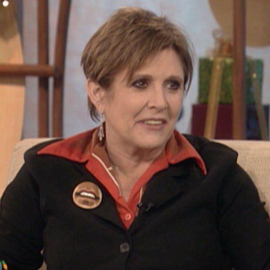 Carrie Fisher Tribute on The Ellen DeGeneres Show Jan. 2017