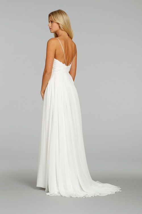 17 best images about ti adora by alvina valenta on for Spaghetti strap wedding dress low back