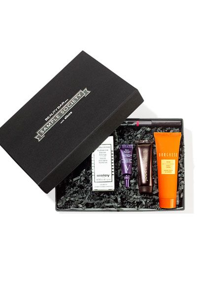 Sample Society deluxe sized samples, $15 off coupon each month and mini allure mag each month