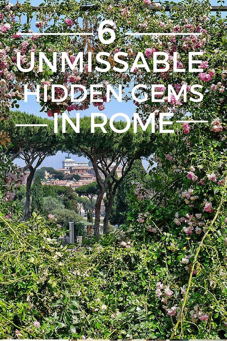 Rome has many world famous attractions, but there are plenty oflesser known sights that are equally interesting.