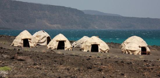 #travel Djibouti huts