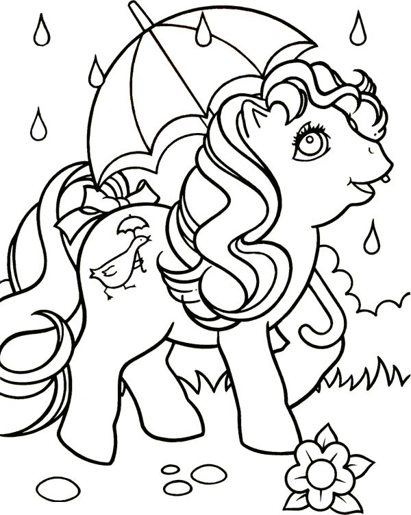 49 best Coloring page Little pony images on Pinterest Adult