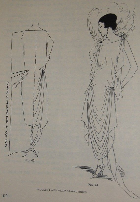 1920s Pattern making book.