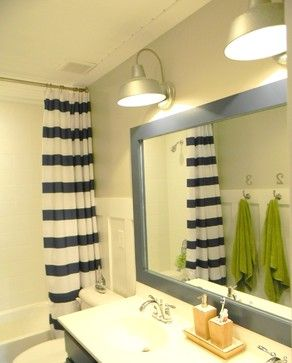 Kid's Nautical Bathroom Makeover - traditional - bathroom - richmond - Seaside Interiors LLC