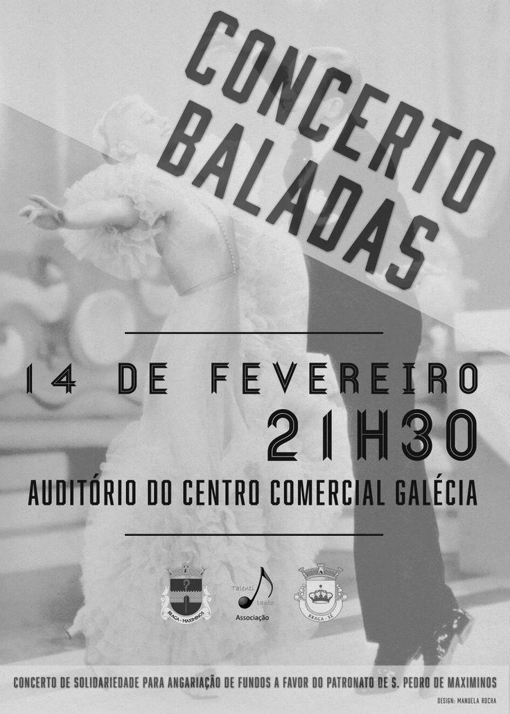 Cartaz Concerto Baladas