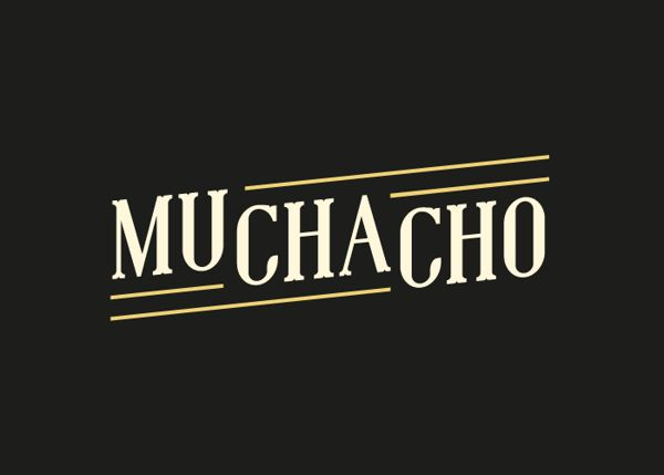 Muchacho Free Font by Jeff Schreiber, via Behance