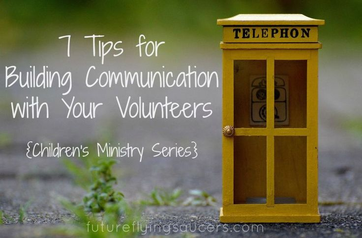 Children's Ministry is not something one does alone. Building communication in your team helps you to be more effective. {Children's Ministry Series} ~ futureflyingsaucers.com