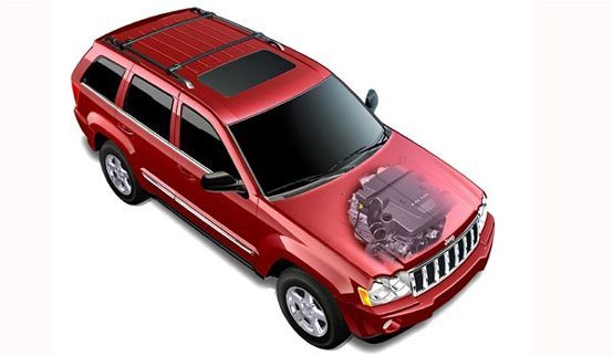 2008 Jeep Grand Cherokee Limited 30L Diesel