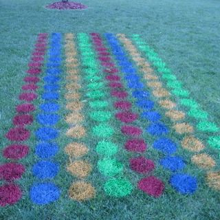 Instructions for setting up yard twister - I want a much smaller version!