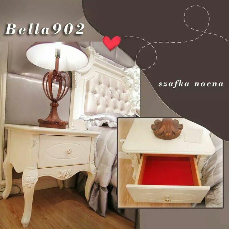 Siła detalu! W dobrze dobranych dodatkach twki cały urok! ;) Szafka nocna BELLA 902 potrafi odmienić niejedną sypialnię :)  #Bemondi