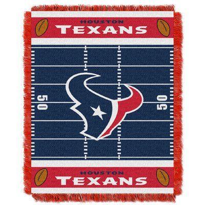Northwest Co. NFL Texans Field Baby Blanket