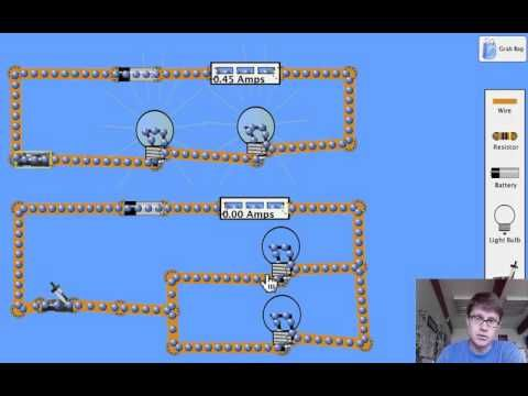 Series and Parallel Circuits: explanation with visual