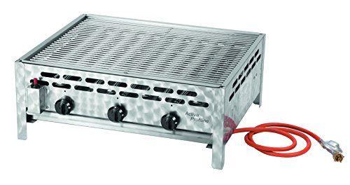 Sale Preis: Activa 3-flammiger Gastrobräter mit Grillrost, Silber. Gutscheine & Coole Geschenke für Frauen, Männer und Freunde. Kaufen bei http://coolegeschenkideen.de/activa-3-flammiger-gastrobraeter-mit-grillrost-silber
