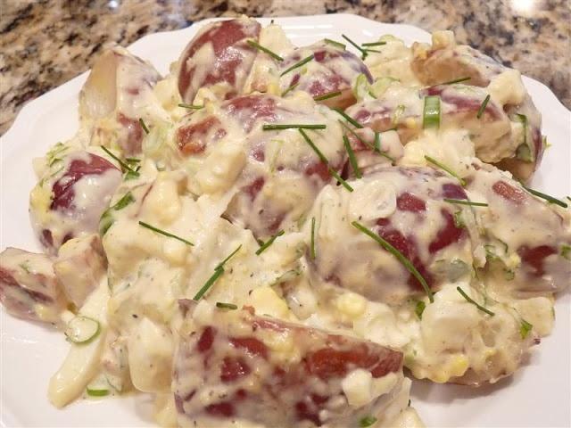 Emeril's amazing potato salad: Butteryum | Salads | Pinterest