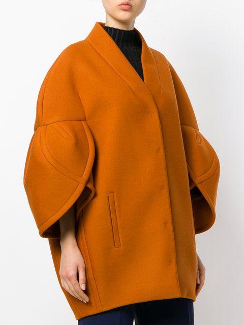 Delpozo Структурированная Куртка с Рукавами Три Четверти  - Farfetch