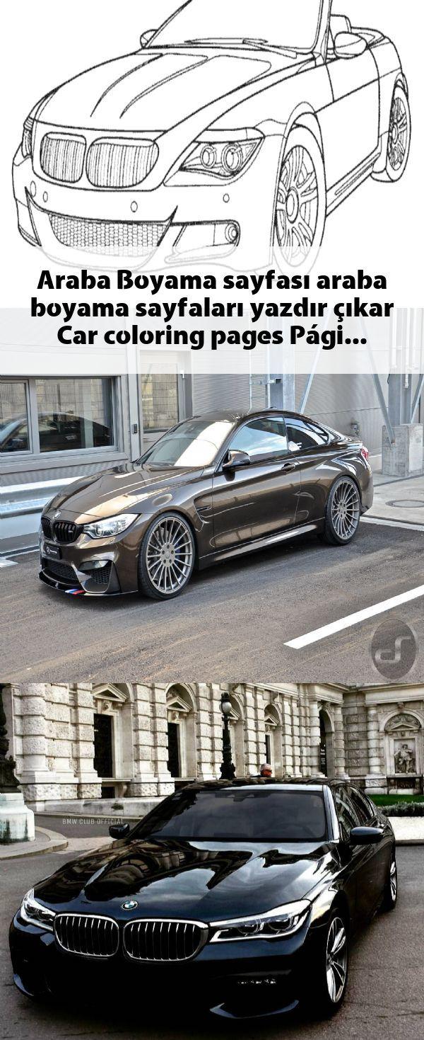 Araba Boyama Sayfasi Araba Boyama Sayfalari Yazdir Cikar Car
