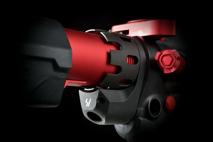 On Sale Now!  The Brand New Strike Industries Enhanced Endplate and Castle Nut For Ar-15!  Complete with QD Mount!