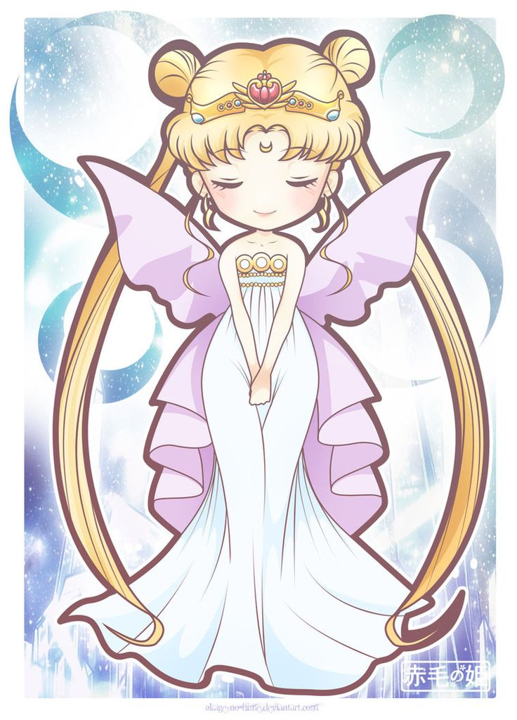 Neo Queen Serenity by Akage-no-Hime on deviantART