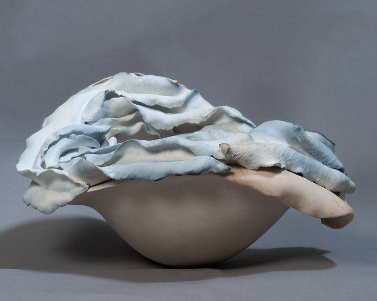seed - stoneware, paperclay porcelain, metal salts