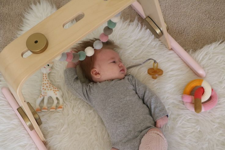 IKEA Hack: Wood Baby Gym | Ahrens at Home