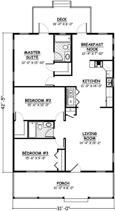 Main Floor Plan: 64-189