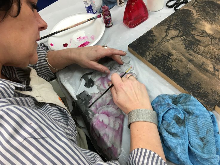 Painting acrylic skin - Dawson college - From photos to painting - winter 2016