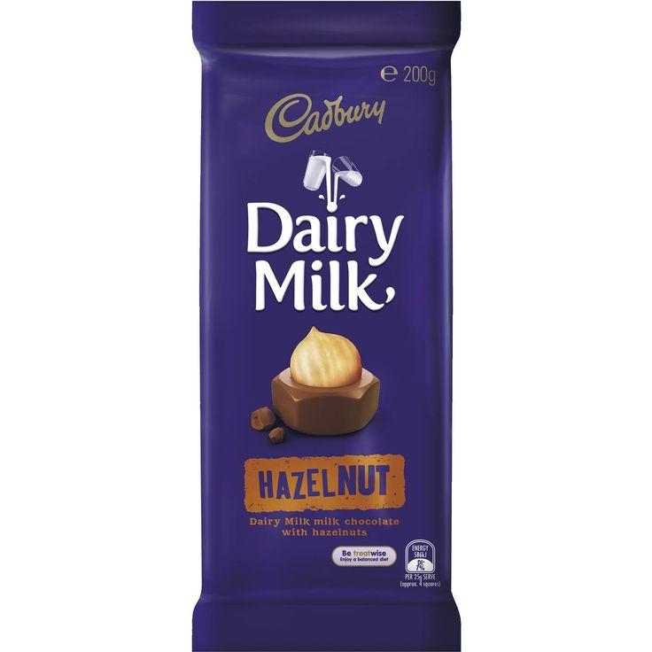 Cadbury dairy milk chocolate hazelnut image cadbury