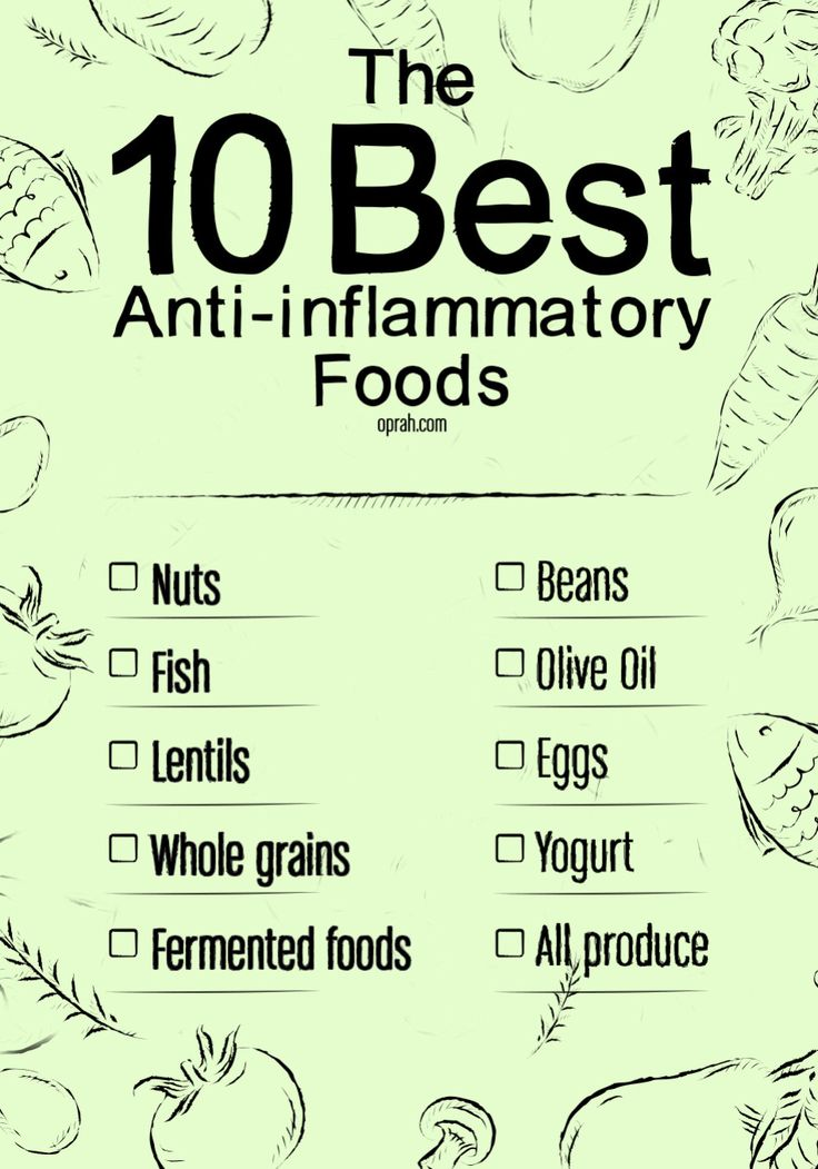 Are you eating enough of the top 10 foods for fighting inflammation?