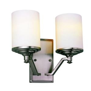 home depot double wall sconce lighting pinterest. Black Bedroom Furniture Sets. Home Design Ideas