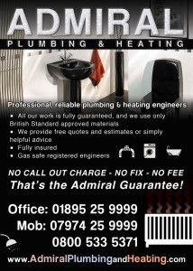 For over 12 years, we have had an excellent reputation across West London for providing an outstanding, honest, central heating and plumbing service. Admiral Plumbing and Heating specialise in all types of central heating systems. #plumberuk,#PlumbingandHeatinguk,#PlumbingandHeatinginuk,#HeatingMaintence,#boilerrepair,#ukboiler,#ukplumber