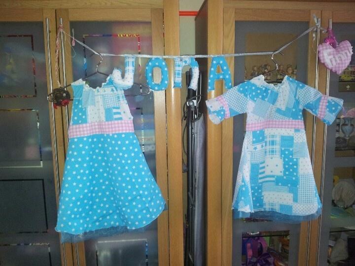 Twee jurkjes voor mijn dochtertjeslief.