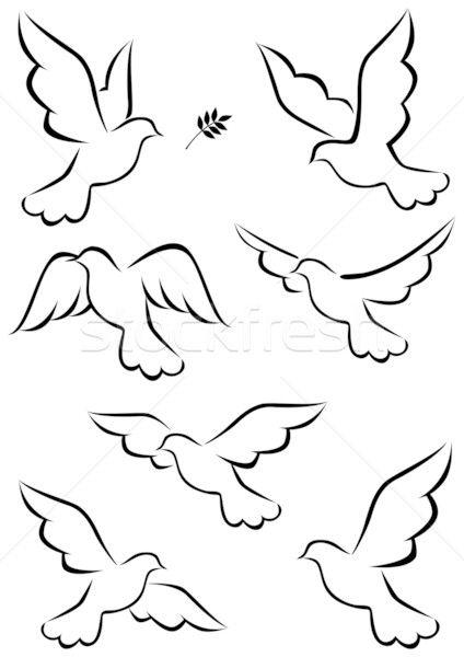 özgürlük Kuşu Boyama Ile Ilgili Görsel Sonucu Boyama Dove